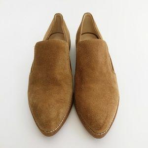 Nine West Quinko Suede Slip on Loafers